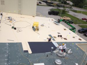 commercial roofing flat roof
