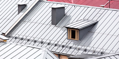 new metal gable roofs